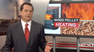 NECN covers the benefits of heating with wood pellets.