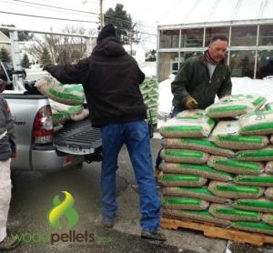 Wood Pellet Pickup